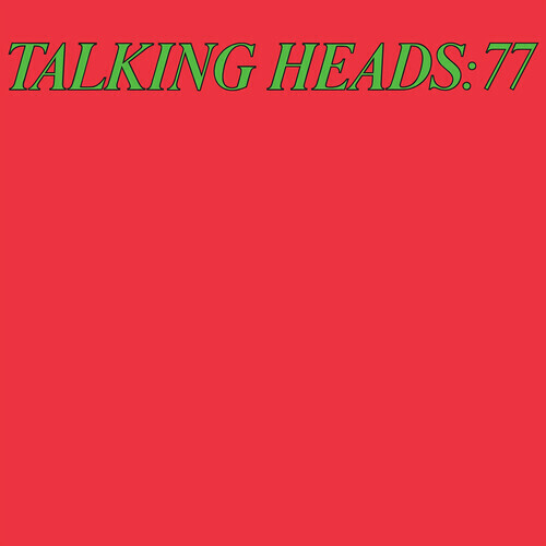 "Talking Heads ""Talking Heads: 77"" *ROCKTOBER 2020* {Red Vinyl} (4,000 copies)"