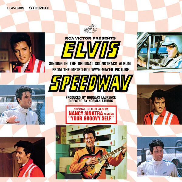 "Elvis Presley ""Speedway (OST)"" VG- 1968"