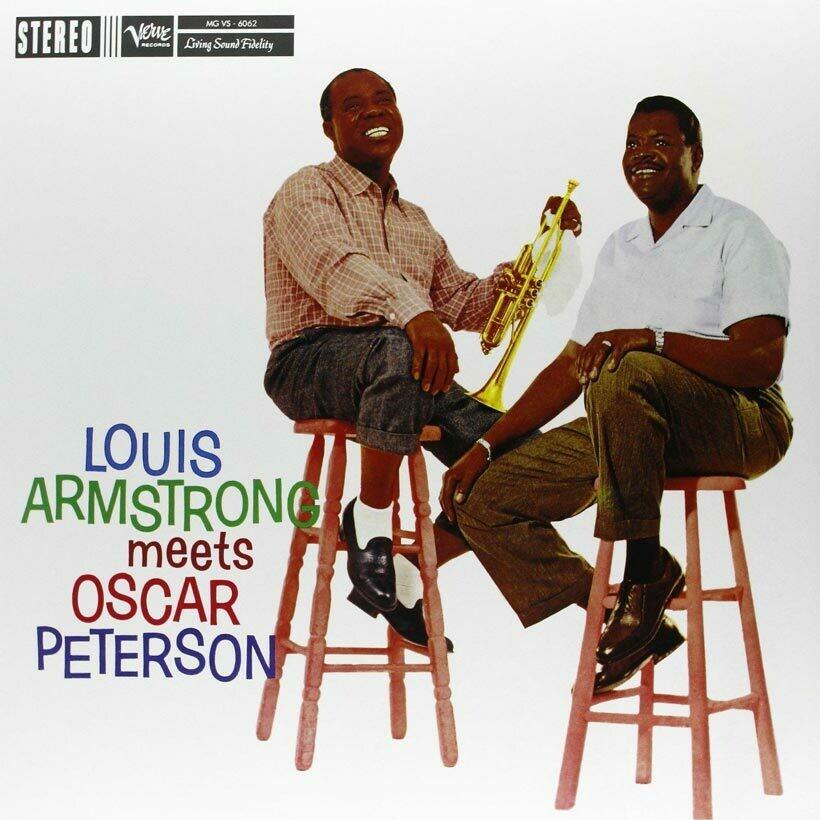 """Louis Armstrong """"... meets Oscar Peterson"""""""