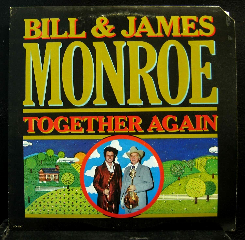 "Bill & James Monroe ""Together Again"" NM- 1978"