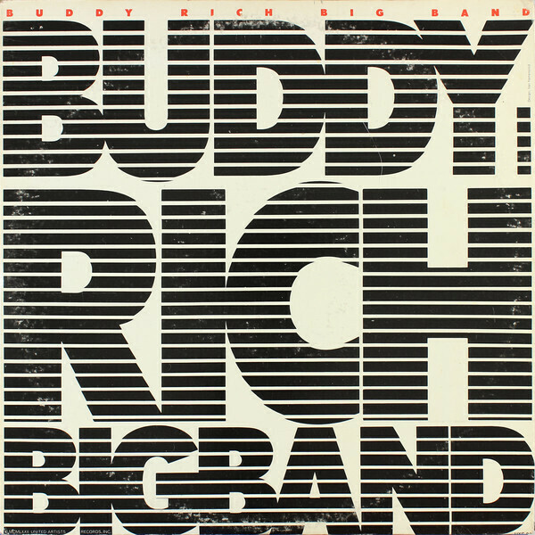 "Buddy Rich Big Band ""Buddy Rich Big Band"" VG+ 1972 {2xLPs!}"
