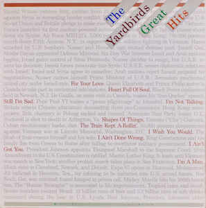 "The Yardbirds ""Great Hits"" EX+ 1977"