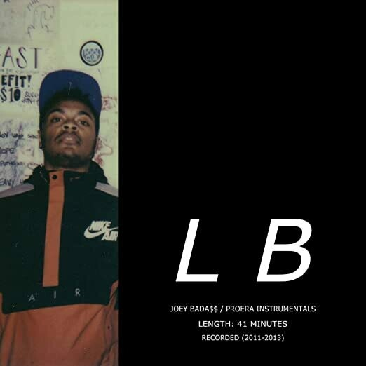 """Lee Bannon """"Joey Bada$$ / ProEra Instrumentals Vol. 1"""""""
