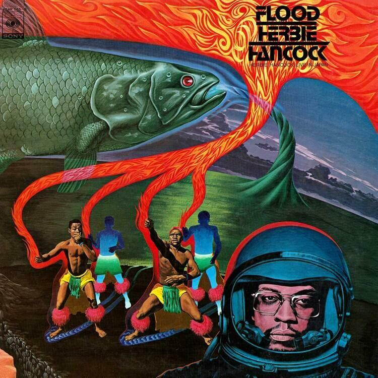 """Herbie Hancock """"Flood"""""""
