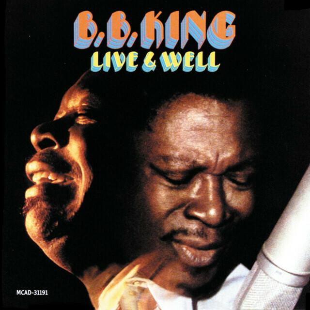 """B.B. King """"Live & Well"""" (G) 1969"""