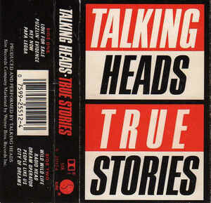 "Talking Heads ""True Stories"" *TAPE* 1986"