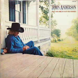 "John Anderson ""I Just Came Home To Count..."" VG 1981"
