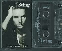 """Sting """"Nothing Like The Sun"""" *TAPE* 1987"""