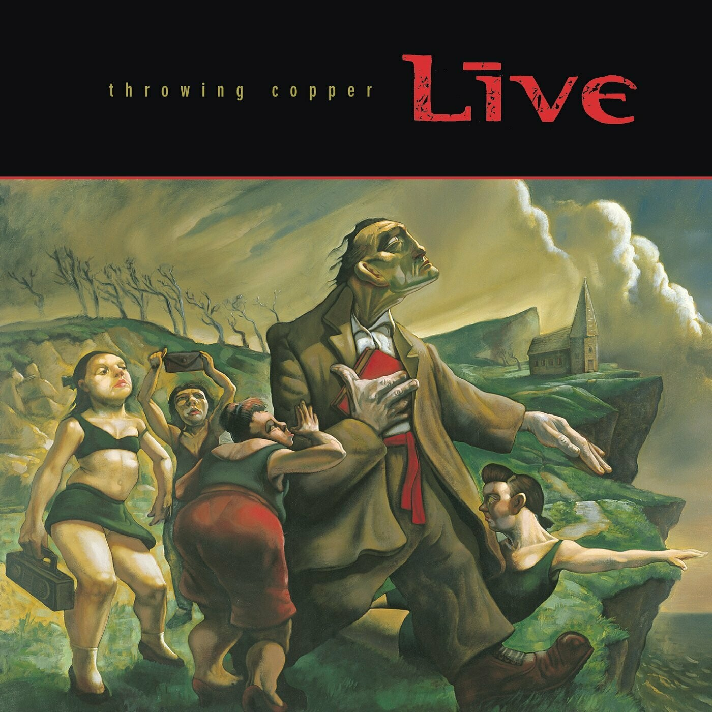 "Live ""Throwing Copper"" *CD* 1994"