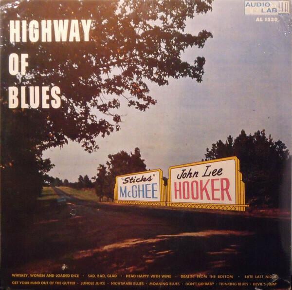 "John Lee Hooker & 'Sticks' McGhee ""Highway Of Blues"" NM 1959/re."
