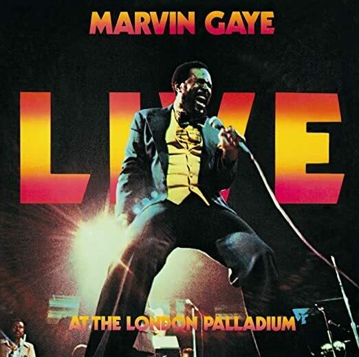 "Marvin Gaye ""Live At The London Palladium"" VG+ 1977 {2xLPs!}"