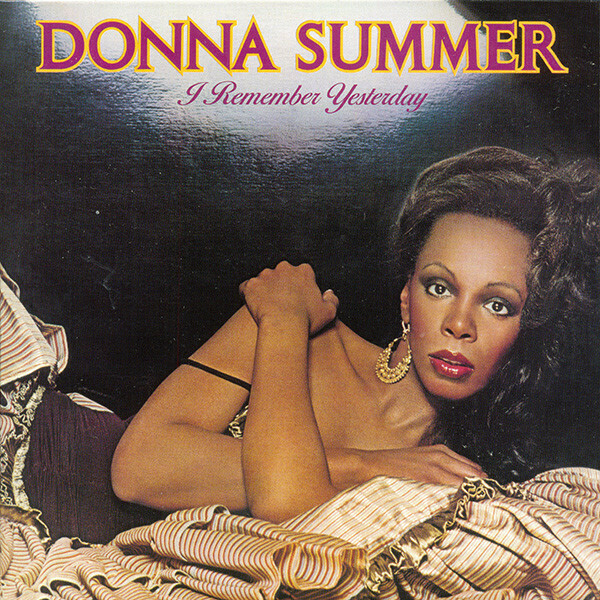 """Donna Summer """"I Remember Yesterday"""" EX+ 1977"""