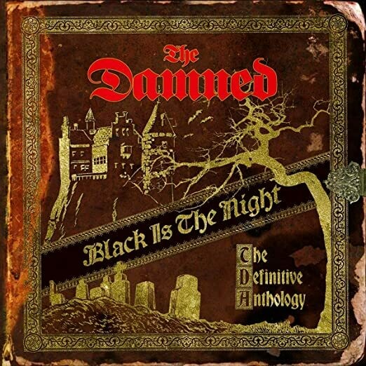 "The Damned ""Black Is The Night (The Definitive Anthology)"""