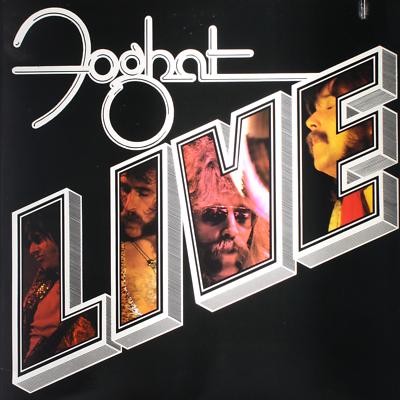 "Foghat ""Live"" EX+ 1977"