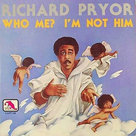 "Richard Pryor ""Who Me? I'm Not Him"" EX+ 1977"