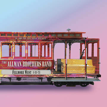 """The Allman Brothers Band """"Fillmore West 1-31-71"""""""
