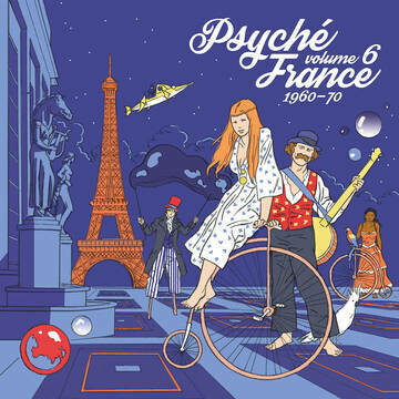 "VARIOUS ARTISTS ""PSYCHÉ FRANCE VOL. 6 (1960-70)"" *RSD 2020* {1,000}"