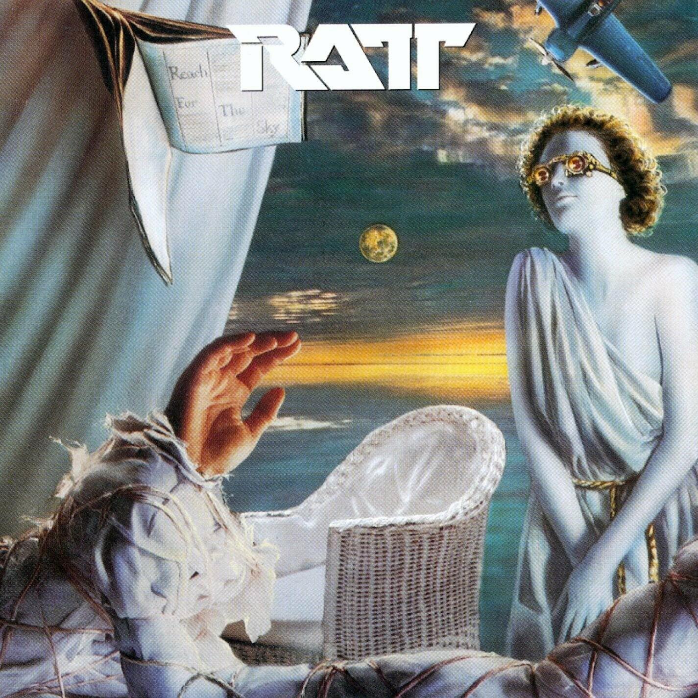"""Ratt """"Reach For The Sky"""" VG+ 1988"""