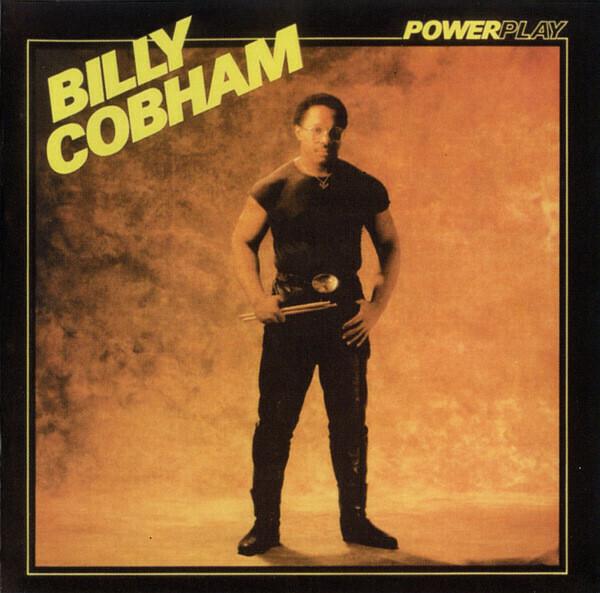 "Billy Cobham ""Powerplay"" VG+ 1986"