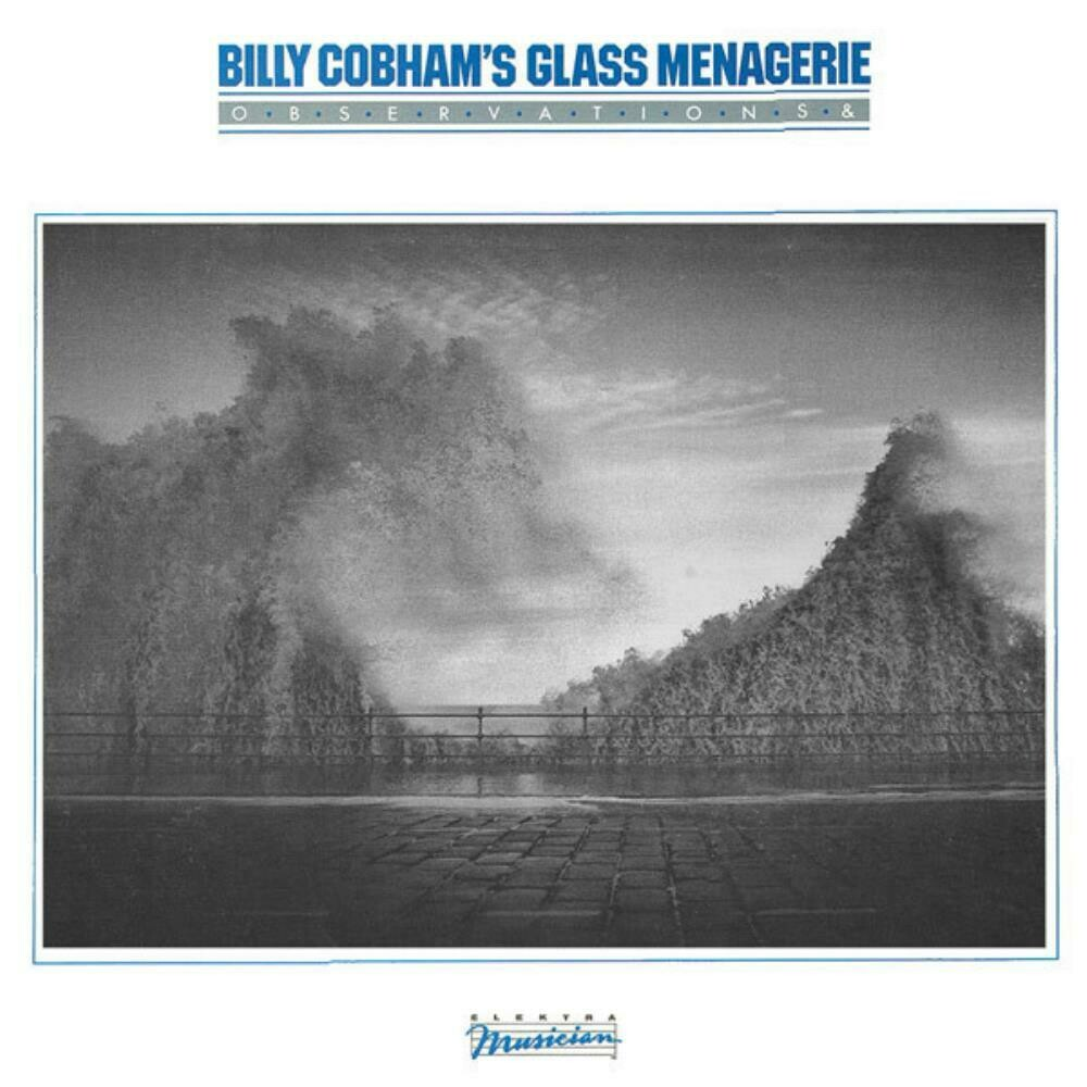 "Billy Cobham's Glass Menagerie ""Observations &"" VG 1982"