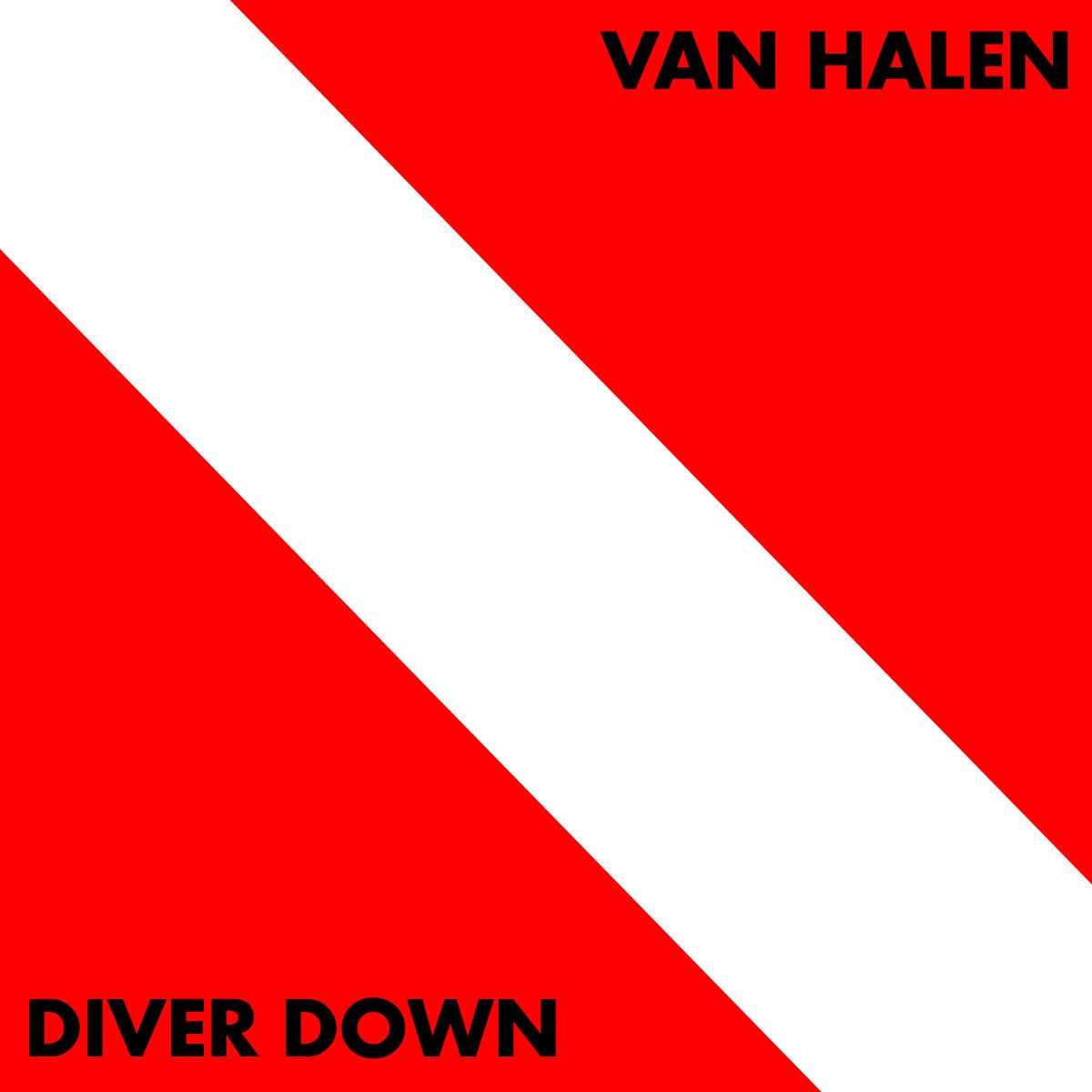 "Van Halen ""Diver Down"" VG+ 1982"