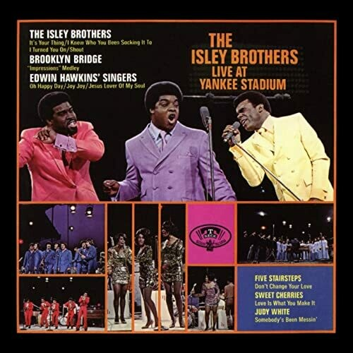 """The Isley Brothers """"Live At Yankee Stadium"""" EX+ 1969 {2xLPs!}"""