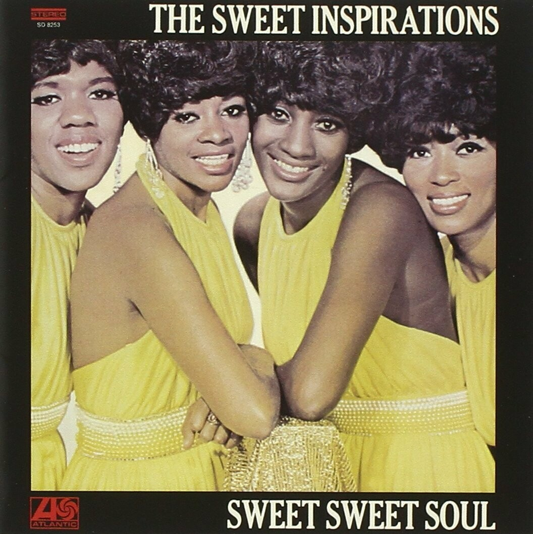"The Sweet Inspirations ""Sweet Sweet Soul"" EX+ 1970"