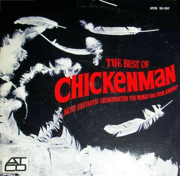 "Chickenman ""The Best Of Chickenman"" VG 1967"