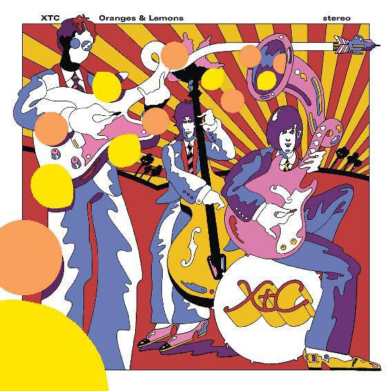 "XTC ""Oranges & Lemons"" NM 1989"