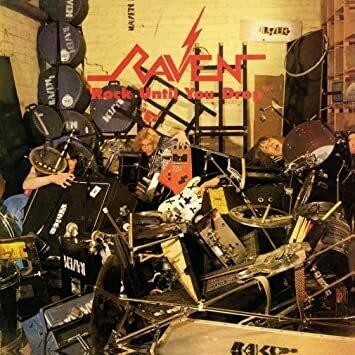 """Raven """"Rock Til You Drop"""" EX+ 1981"""