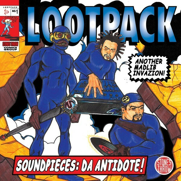 "Lootpack ""Soundpieces: Da Antidote!"" {3xLPs!}"