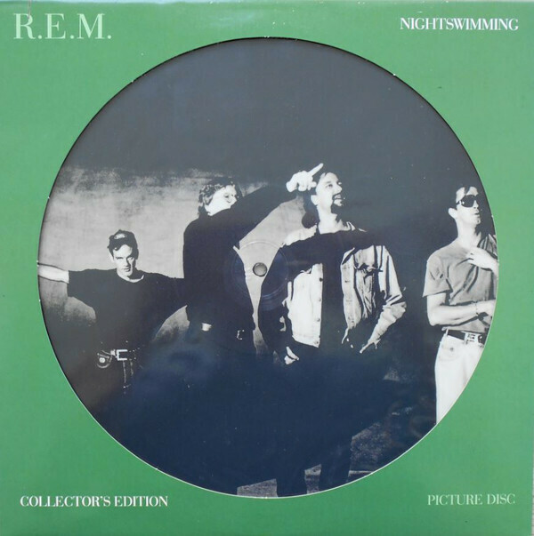 "R.E.M. ""Nightswimming"" EX+ 1993 *picture disc!*"