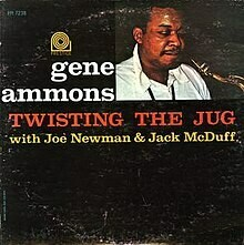 "Gene Ammons ""Twisting The Jug"" VG+ 1962/re.1965 *MONO*"