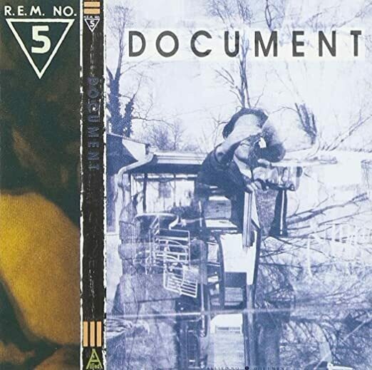 "R.E.M. ""Document"" EX+ 1987"