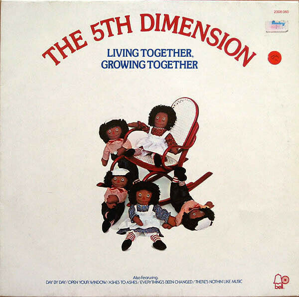 "The Fifth Dimension ""Living Together, Growing Together"" NM- 1973"