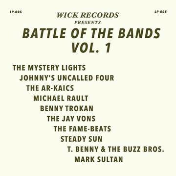 """VARIOUS """"WICK RECORDS PRESENTS BATTLE OF THE BANDS VOL. 1"""" *RSD 2020*"""
