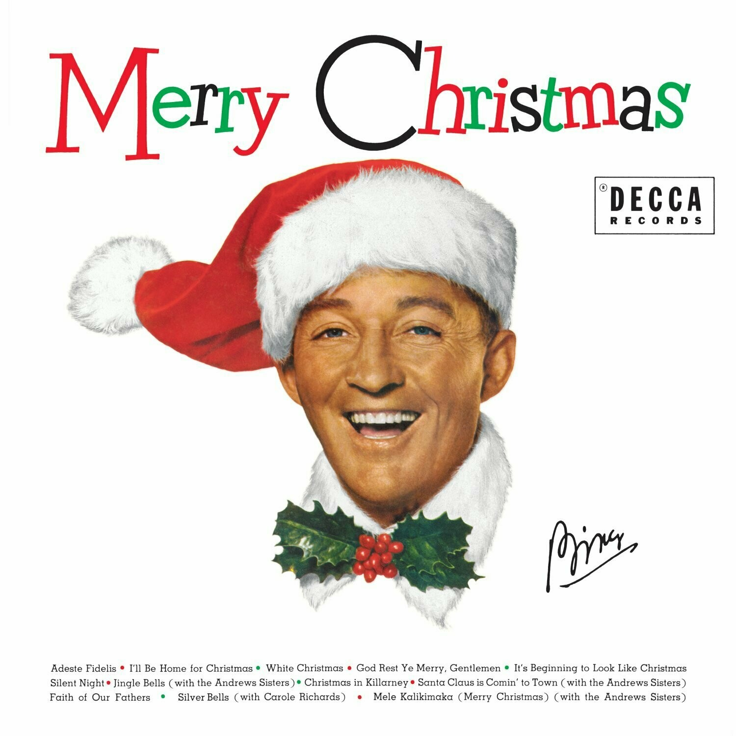 "Bing Crosby ""Merry Christmas"""