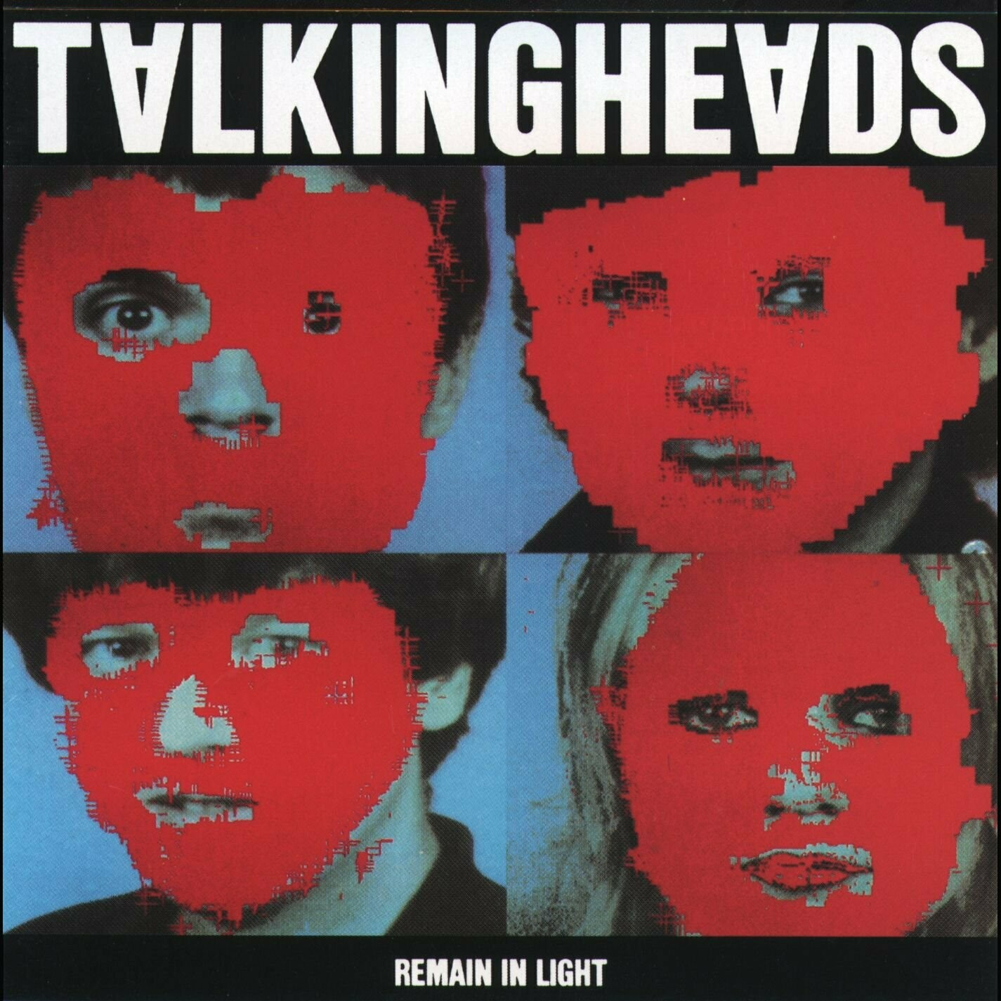 """Talking Heads """"Remain In Light"""" EX+ 1980"""