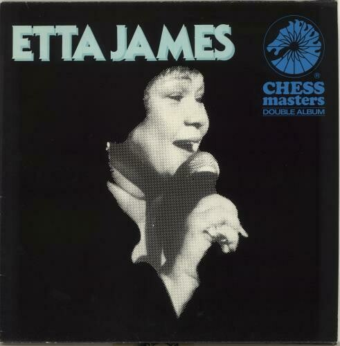 "Etta James ""Chess Masters"" VG+ 1983 {2xLPs!}"