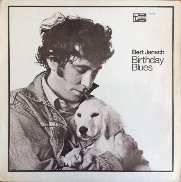 """Bert Jansch """"Birthday Blues"""" EX+ 1969"""