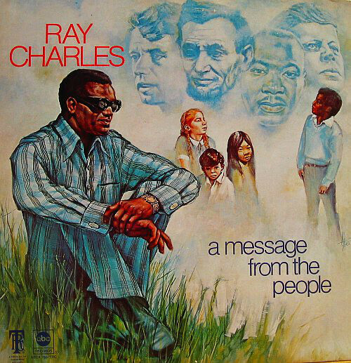 "Ray Charles ""A Message From The People"" VG+ 1972"