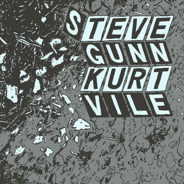 """{DSCGS} Kurt Vile / Steve Gunn """"Parallelogram"""" NM 2015"""