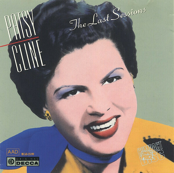 "Patsy Cline ""The Last Sessions"" EX+ 1988"