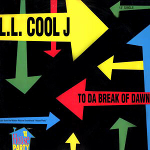 "LL Cool J ""To Da Break Of Dawn"" {12""} VG+ 1990"