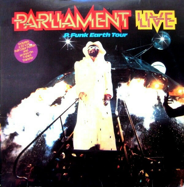 "Parliament ""Live: P. Funk Earth Tour: EX+ 1977 {2xLPs!}"