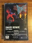 "David Bowie ""Let's Dance"" *TAPE* 1983"