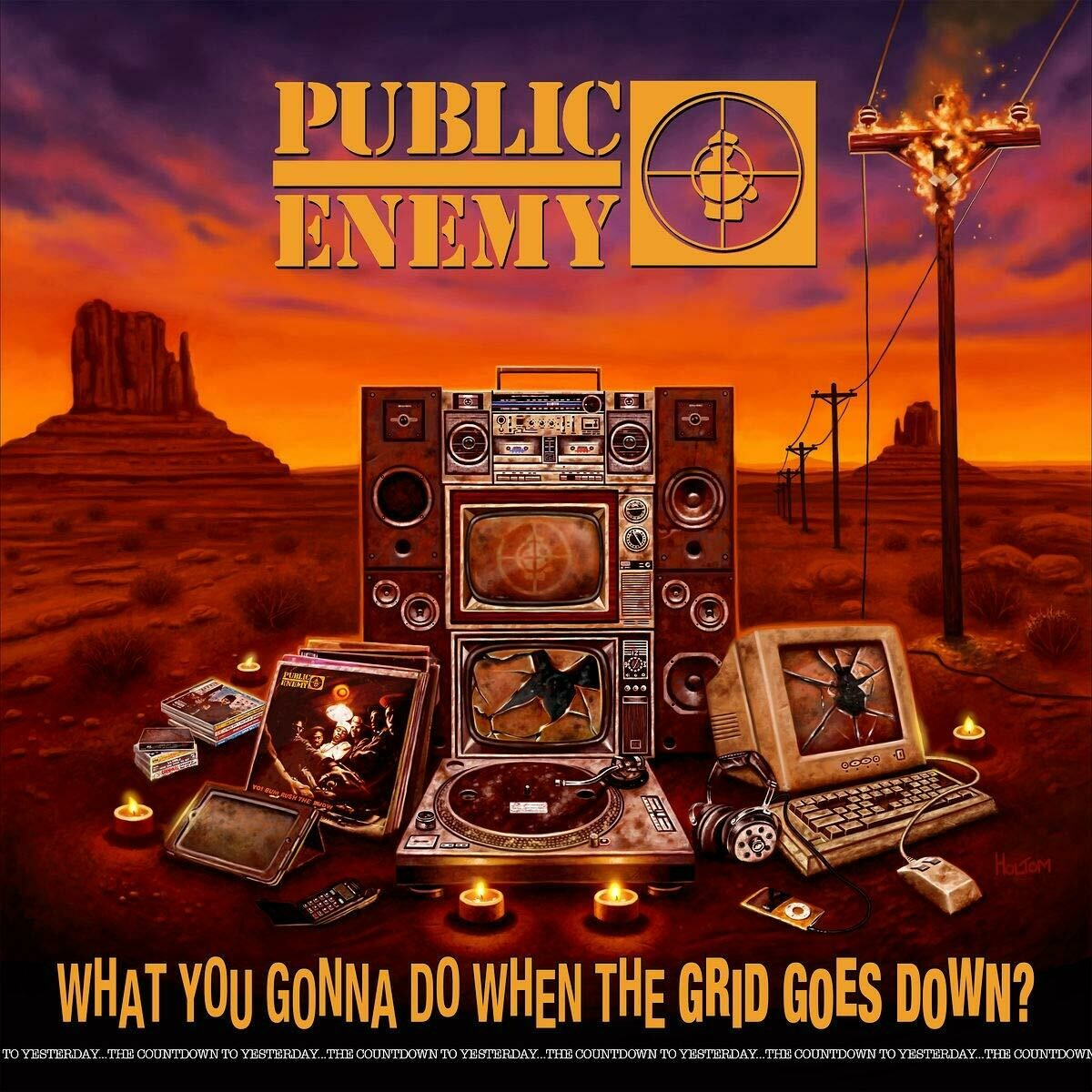 """Public Enemy """"What You Gonna Do When The Grid Goes Down?"""""""