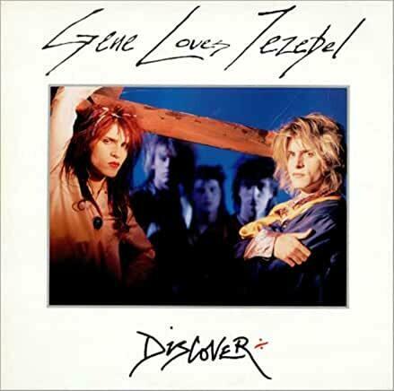"""Gene Loves Jezebel """"Discover"""" VG+ 1986"""