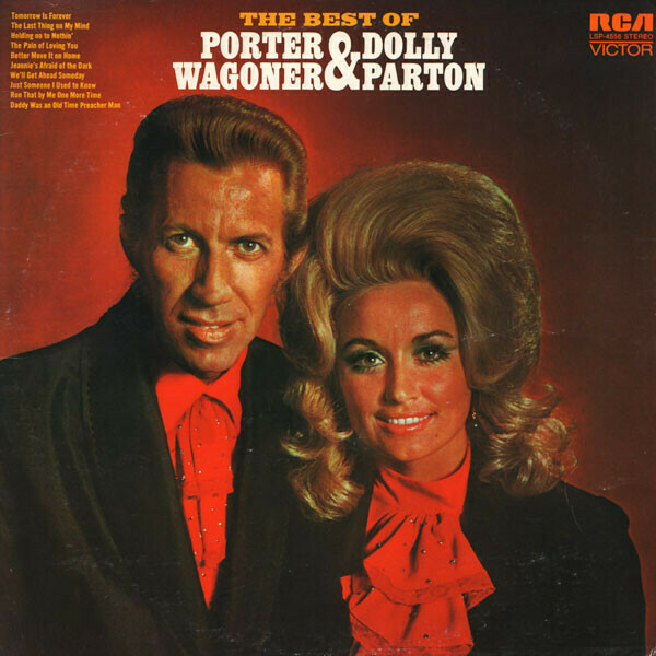 "Dolly Parton & Porter Wagoner ""The Best Of"" VG+ 1971"