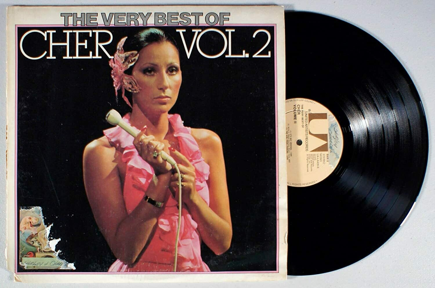 "Cher ""The Very Best Of Cher Vol. 2"" EX+ 1975"